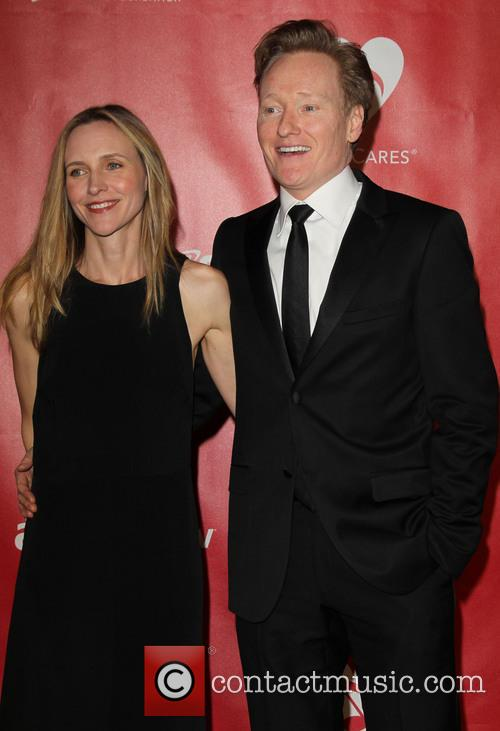 Elizabeth Ann Powell and Conan O'brien 5