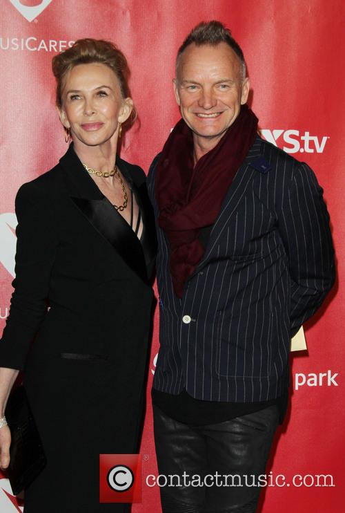 Trudie Styler and Sting 2