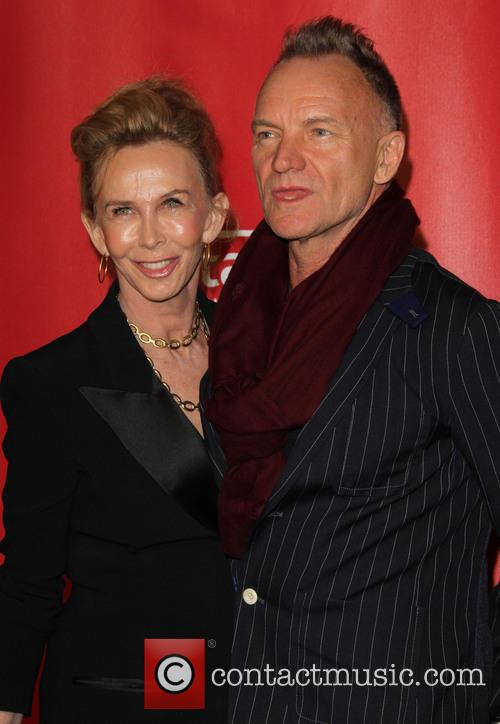 Trudie Styler and Sting 1