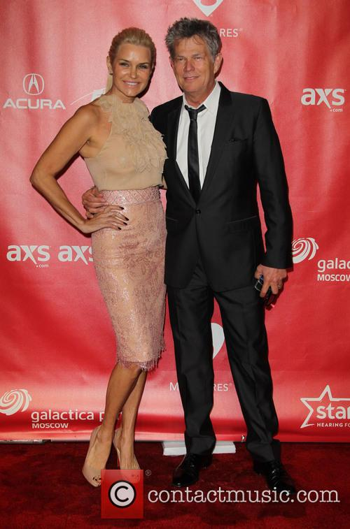 Yolanda Hadid, David Foster, Los Angeles Convention Center, Grammy Awards
