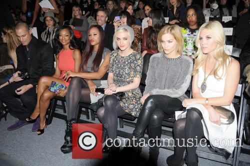 Nigel Barker, Nicole Sperling, Eve, Ashlee Simpson, Leigh Lezark, Tinsley Mortimer, New York Fashion Week