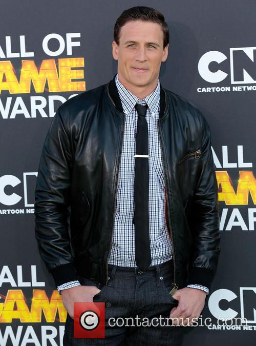 ryan lochte cartoon network hall of game awards 3493177