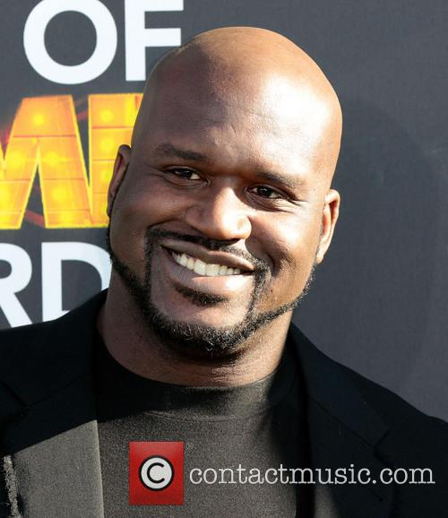 shaquille o'neal cartoon network hall of game awards 3493165
