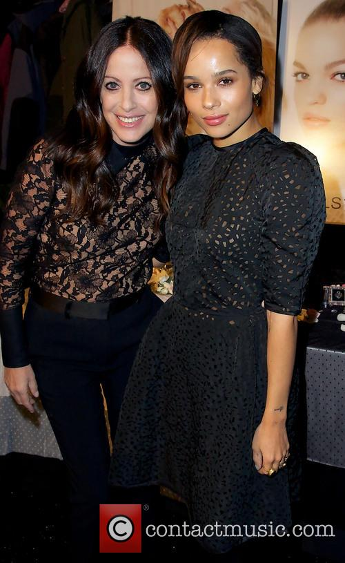 Jill Stuart and Zoe Kravitz 5