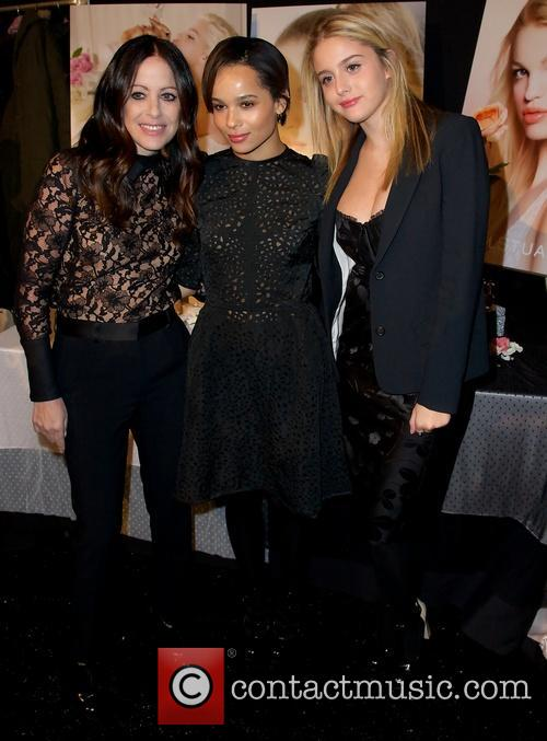 Jill Stuart, Zoe Kravitz and Model 3