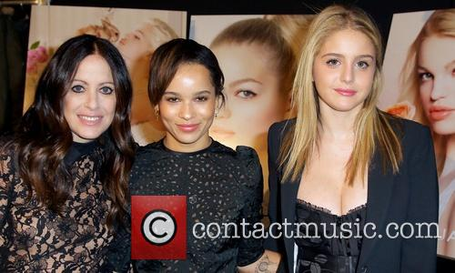 Jill Stuart, Zoe Kravitz and Model 1