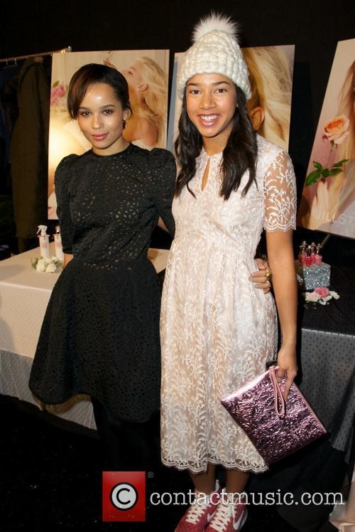 Zoe Kravitz, Hannah Bronfman, New York Fashion Week