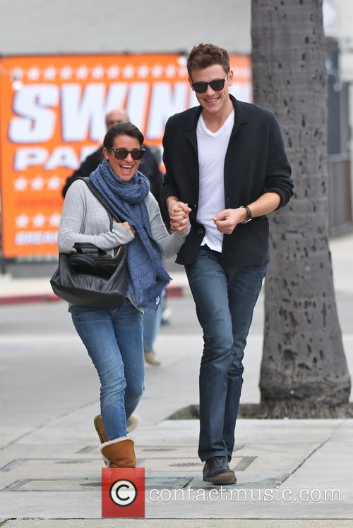 Cory Monteith and Lea Michelle
