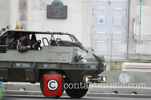 Filming takes place for the upcoming movie 'All...