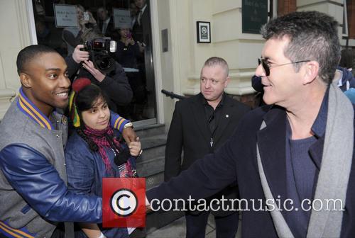 Simon Cowell and Simon Webbe 2