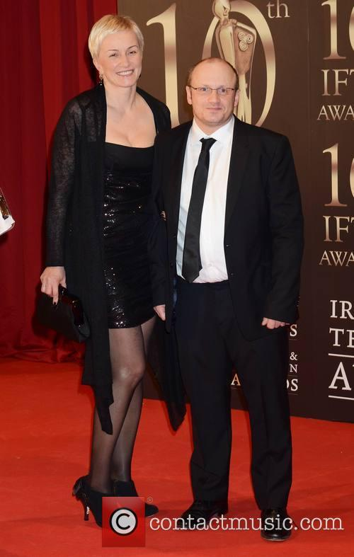 Lenny Abrahamson with beautiful, Wife Monika Pamula