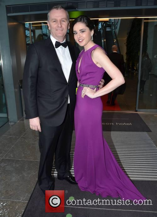 daithi o'se rita talty guests leave the gibson hotel 3492062