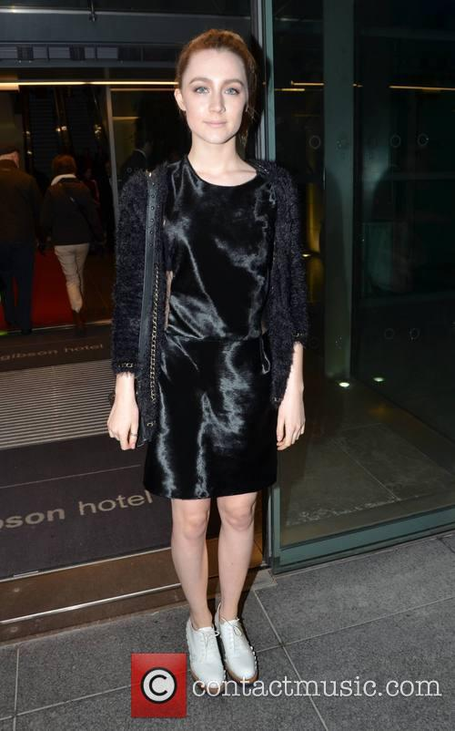 saoirse ronan guests leave the gibson hotel 3492059