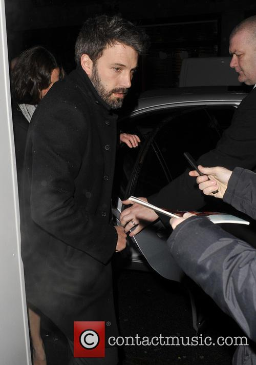 Ben Affleck Arrives At His Hotel
