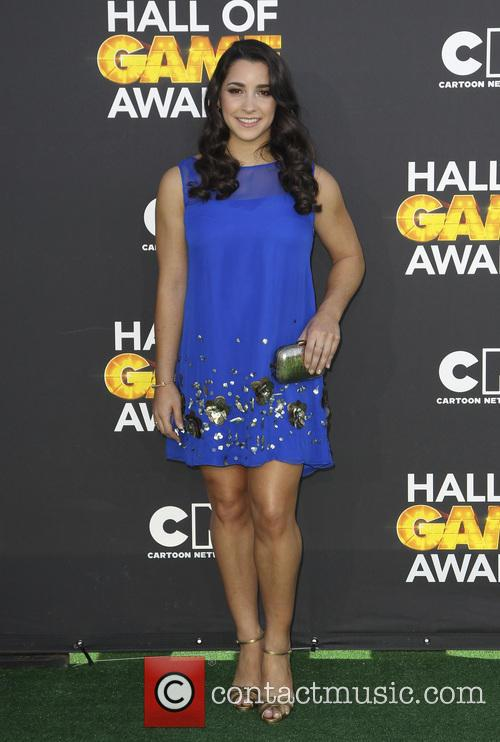 aly raisman cartoon network hall of game awards 3492522