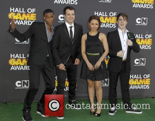 Jessie Usher, Gaelan Connell, Aimee Carrero and Connor Del Rio 2