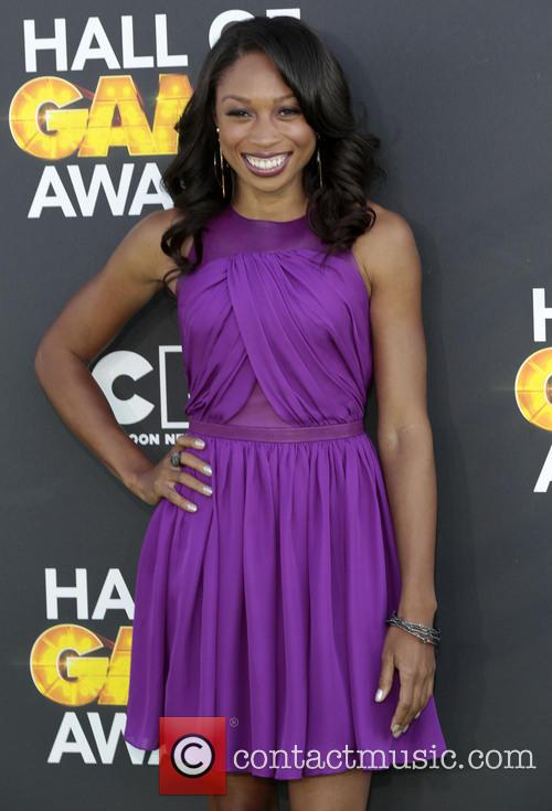 allyson felix cartoon network hall of game awards 3494165