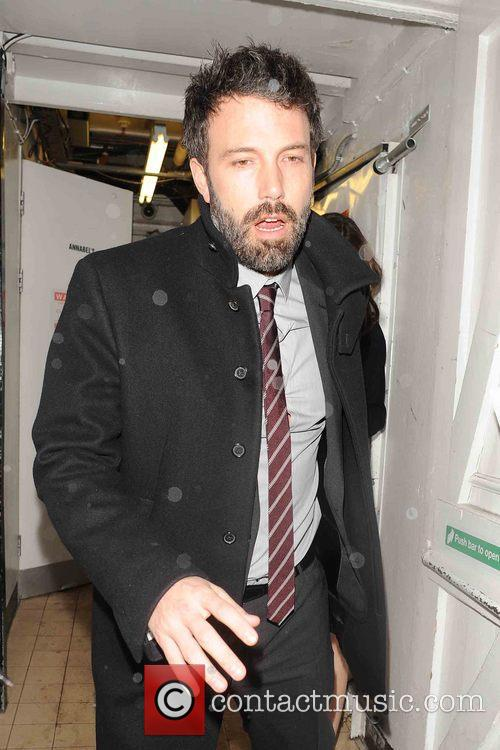 Ben Affleck and Jennifer Garner leave Claridge's