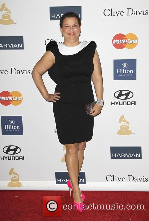 Clive Davis and Debra Lee 5