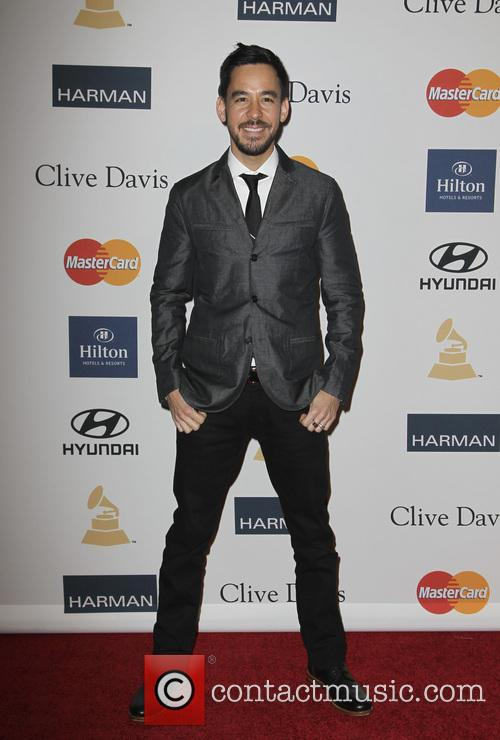Clive Davis and Mike Shinoda 11