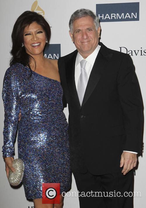 Gayle King and Les Moonves 1