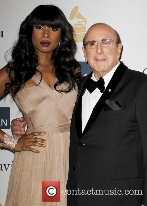 Jennifer Hudson and Clive Davis 5