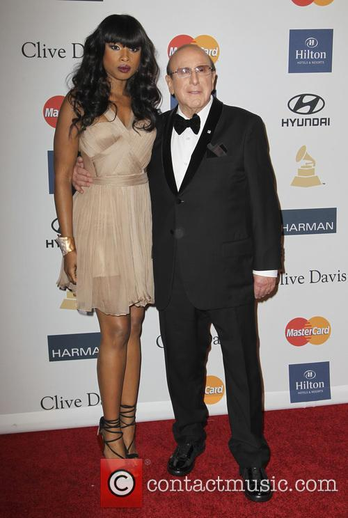 Jennifer Hudson and Clive Davis 9
