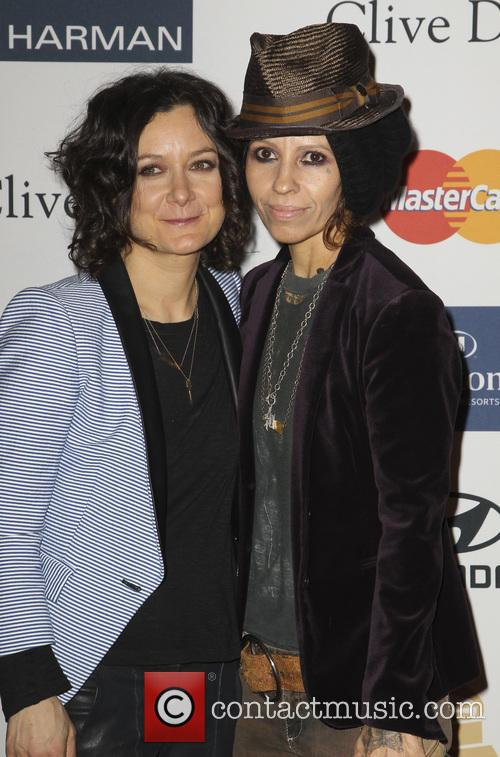 Sara Gilbert and Linda Perry 2