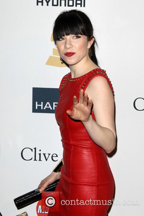Carly Rae Jepsen, Beverly Hilton Hotel, Grammy