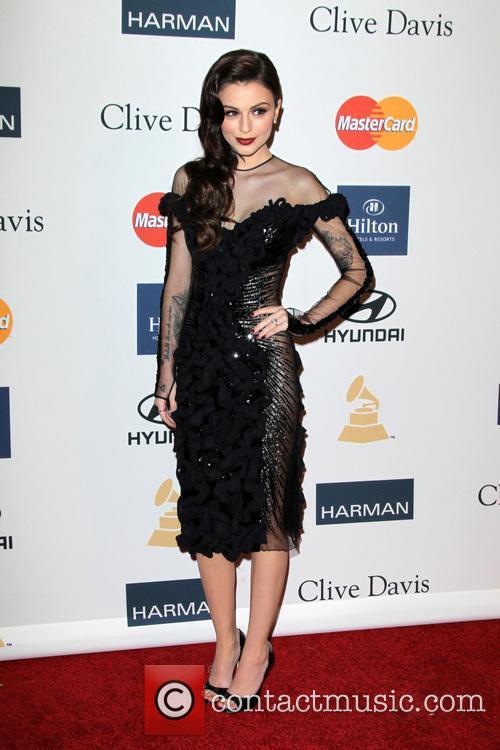 Cher Lloyd, Beverly Hilton Hotel, Grammy