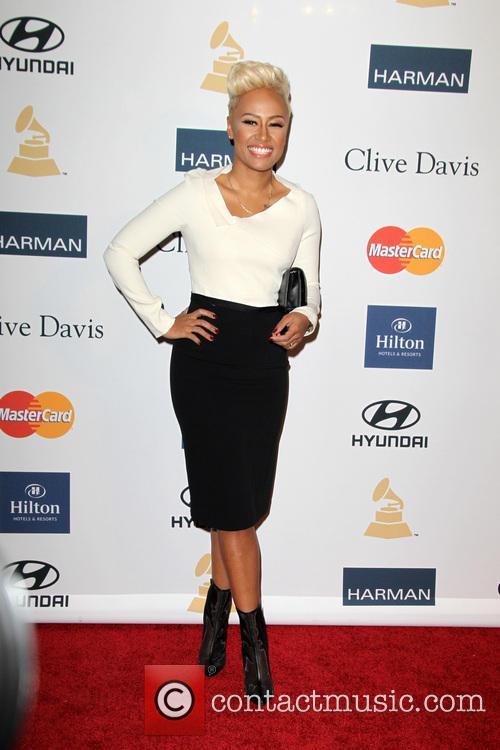 Clive Davis, Emelie Sande, Beverly Hilton Hotel, Grammy