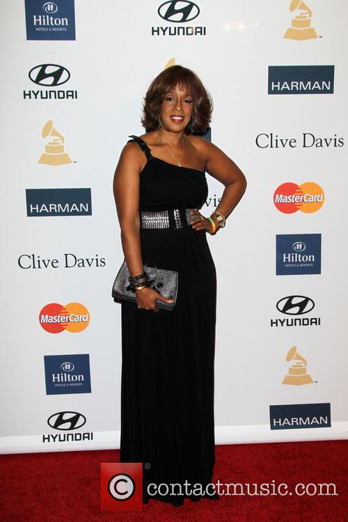 Gayle King, Beverly Hilton Hotel, Grammy