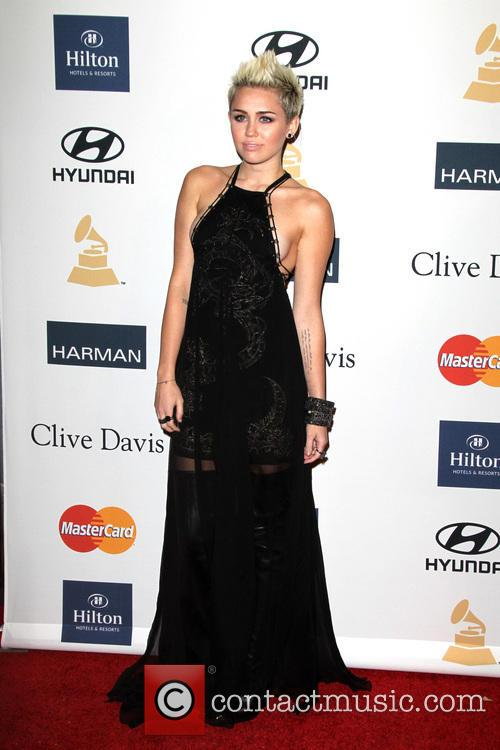 miley cyrus clive davis the recording academy's 2013 3495188