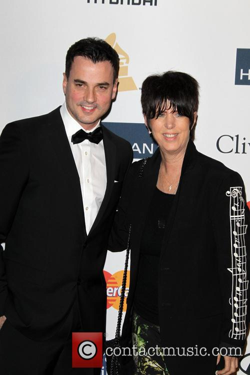 Tommy Page and Clive Davis