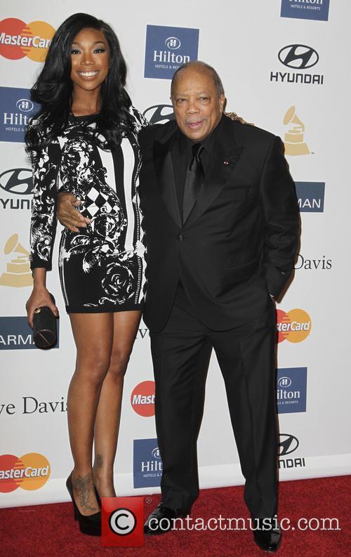 Brandy, Quincy Jones, Grammy