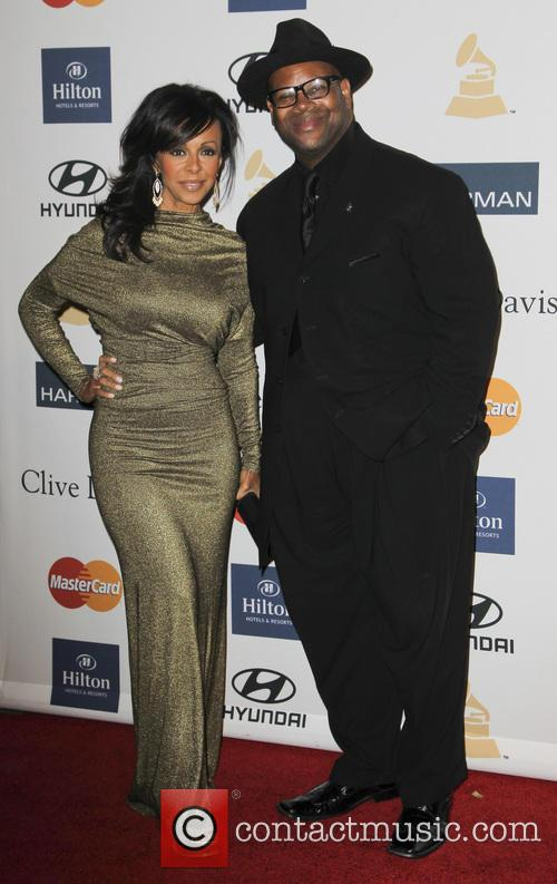 Lisa Harris and Jimmy Jam