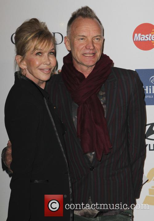 Trudy Styler and Sting
