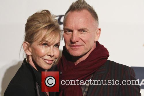 Trudy Styler and Sting 3