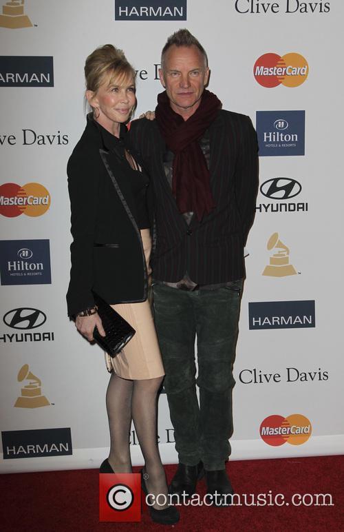 Trudy Styler, Sting, Grammy