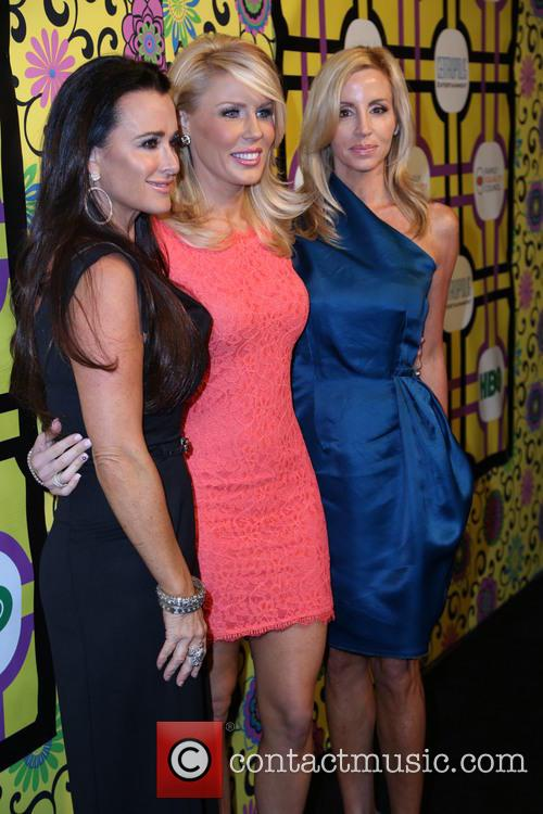 Kyle Richards, Gretchen Rossi and Camille Grammer 3