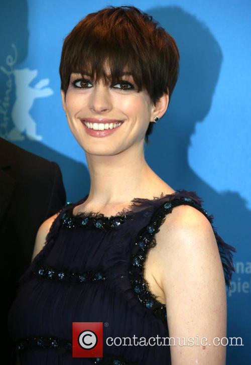 Anne Hathaway, Hotel Hyatt