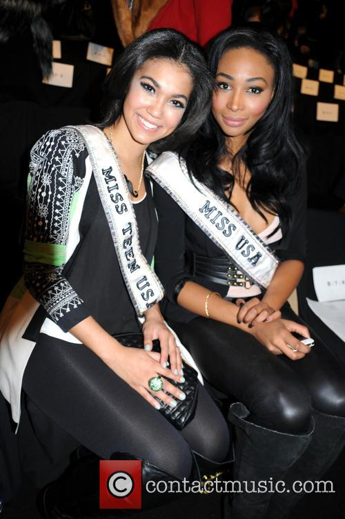 Miss Teen Usa Logan West and Miss Usa Nana Meriwether 2