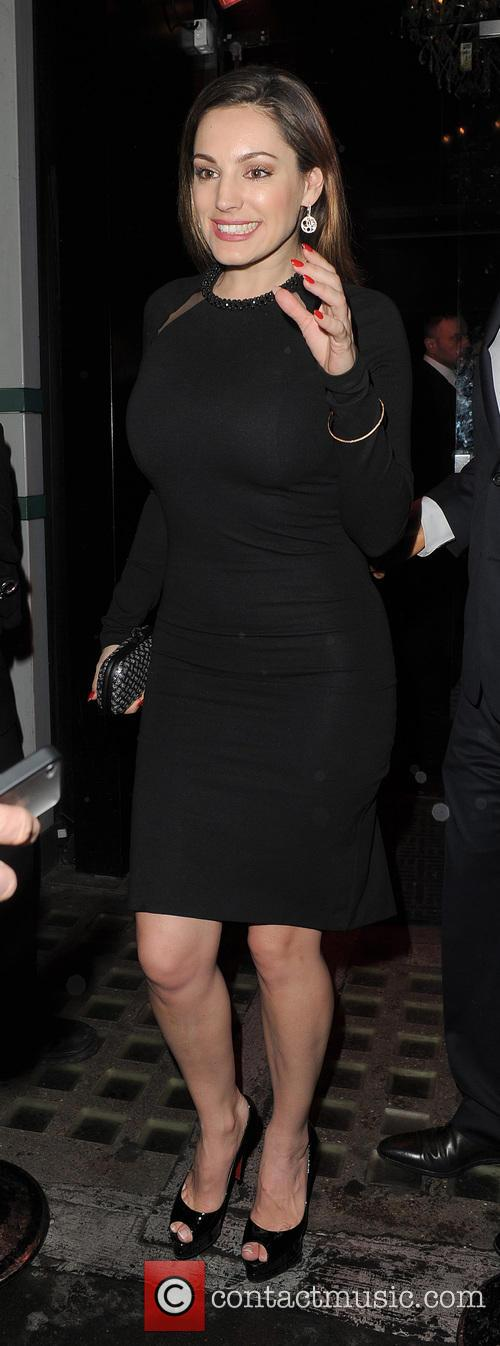 kelly brook pre bafta dinner at annabels 3492897
