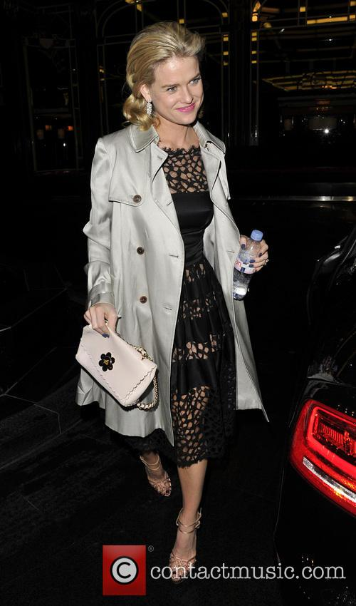 alice eve pre bafta dinner at annabels 3493741