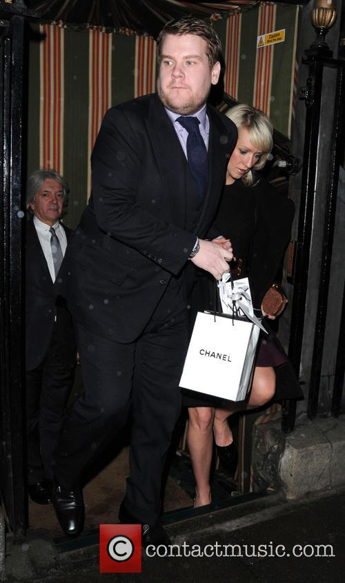 James Corden and Julia Carey 6