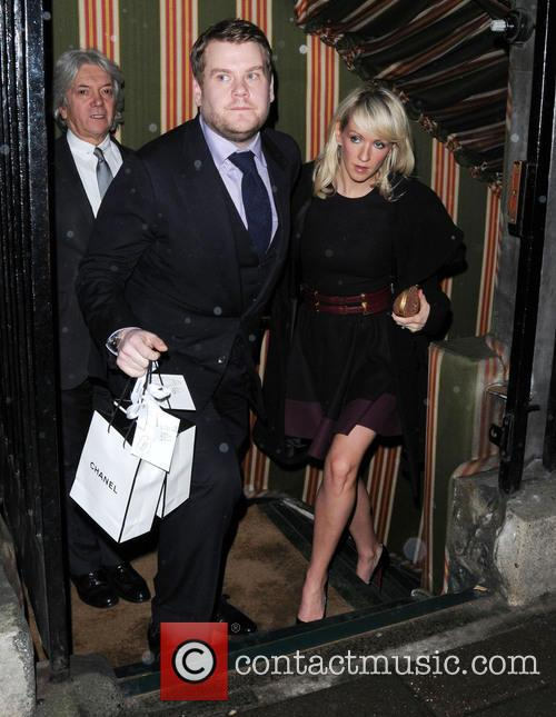 James Corden and Julia Carey 1
