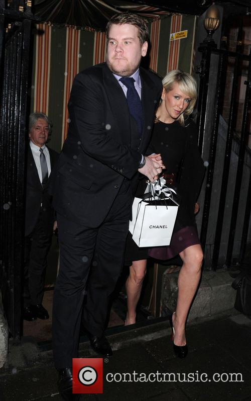 James Corden and Julia Carey 8