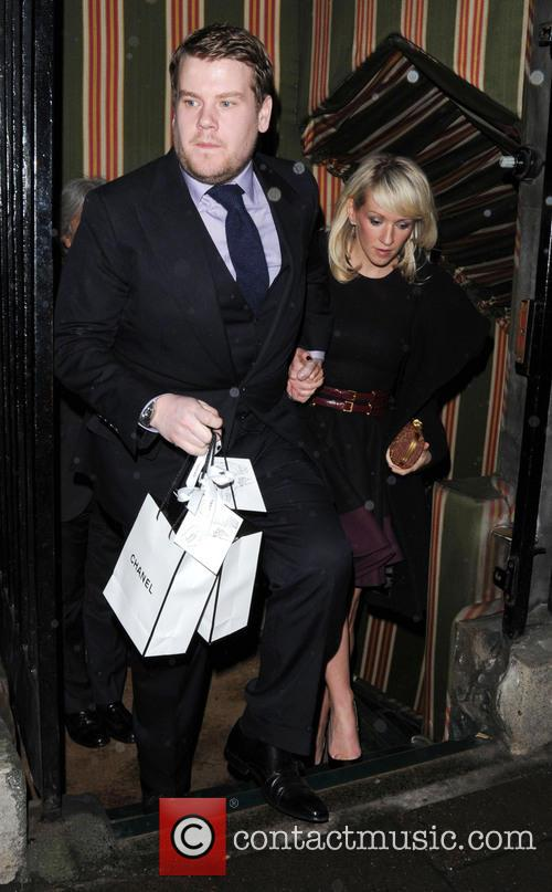 James Corden and Julia Carey 9