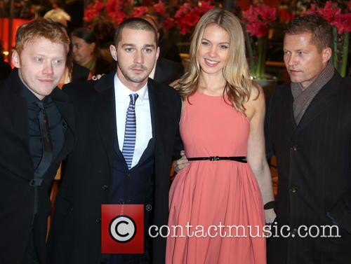 Rupert Grint, ) Shia Labeaouf, His Gir and Til Schweiger 5