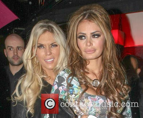 Celebs out at Mayfair night club